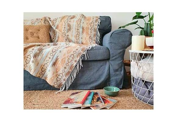 Decora tu casa con mantas estilo boho